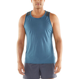 Icebreaker Amplify Camiseta sin mangas running Hombre, thunder/panther heather